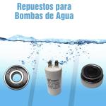 Repuestos para Bomba de Agua